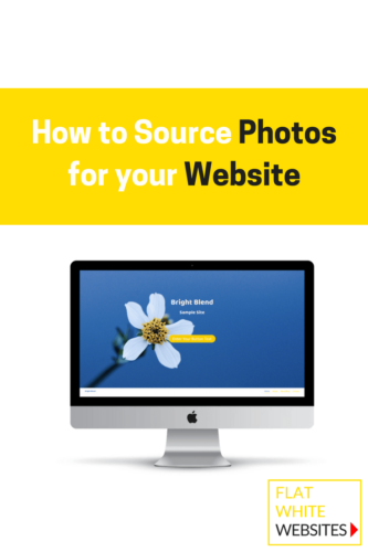 How to source photos for your website