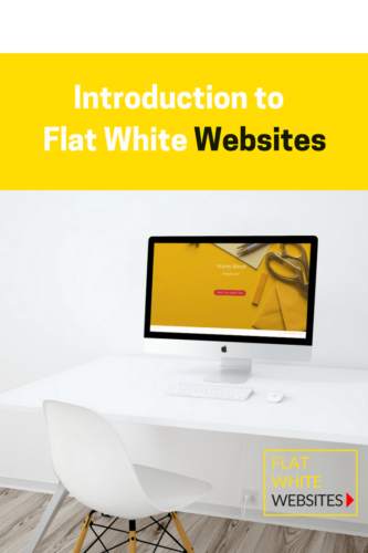 Introduction to Flat White Websites, website design, website inspiration, wordpress websites