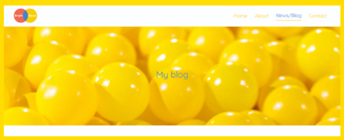 Header example for Website Jargon blog