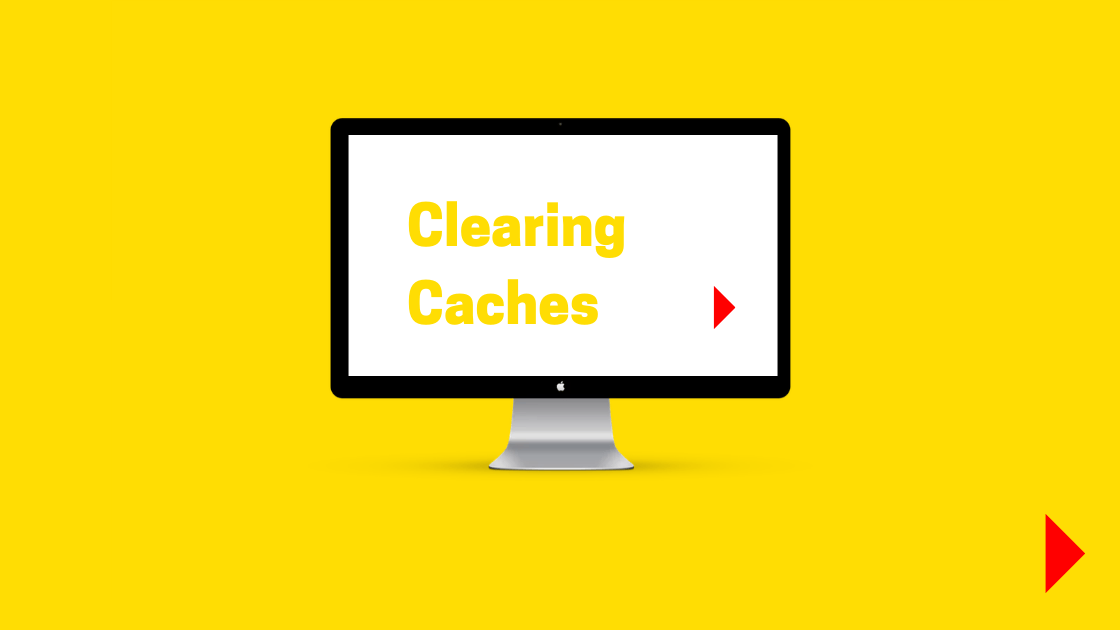 Graphic for Flat White Website blog Clearing Caches