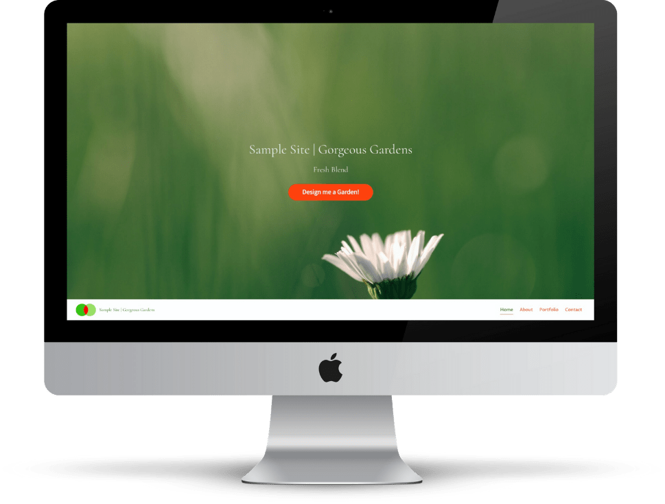 Multi Page website example by Flat White Websites