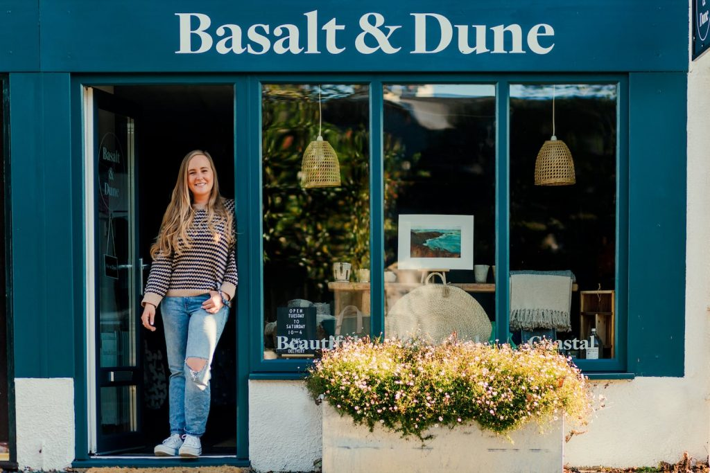 Basalt and Dune shopfront by Kate Hollingsworth - personal branding photography