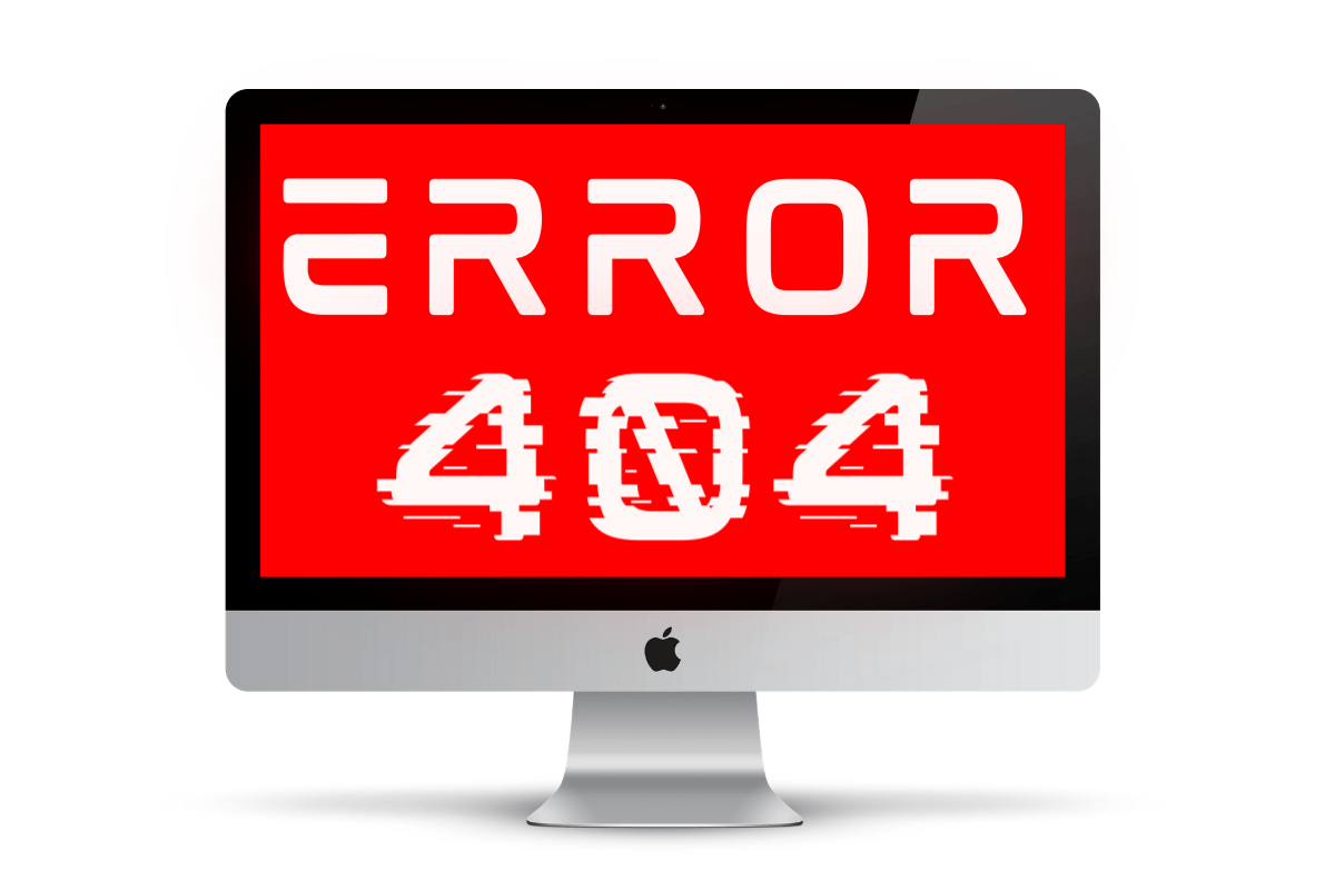 Error 404 image for 404 Page blog